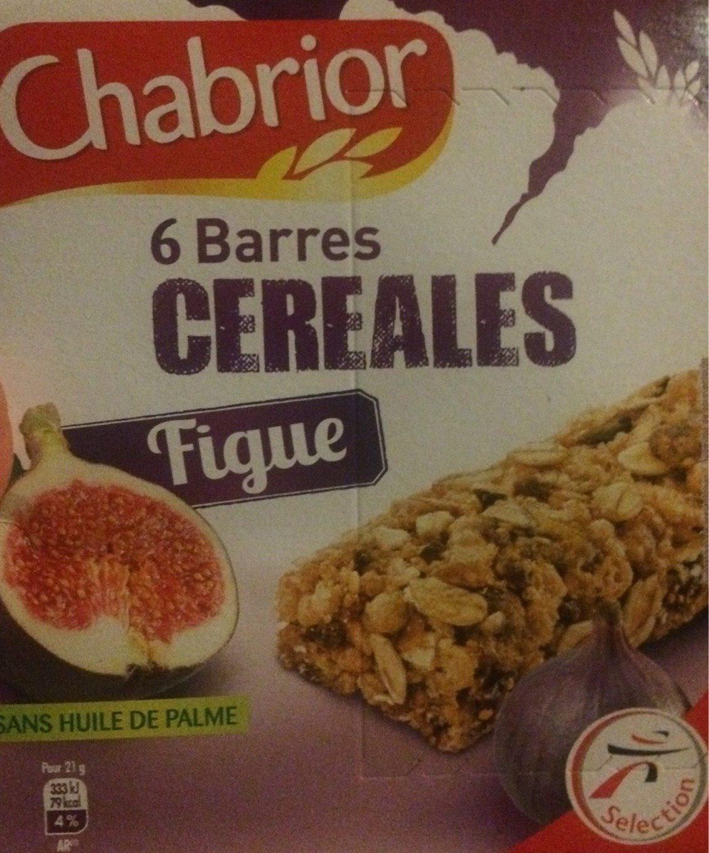 Barre cereales figue - Produit - fr