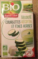 Velouté courgettes ricotta - Produit - fr