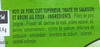 Roti de porc bleu blanc coeur - Ingrédients - fr