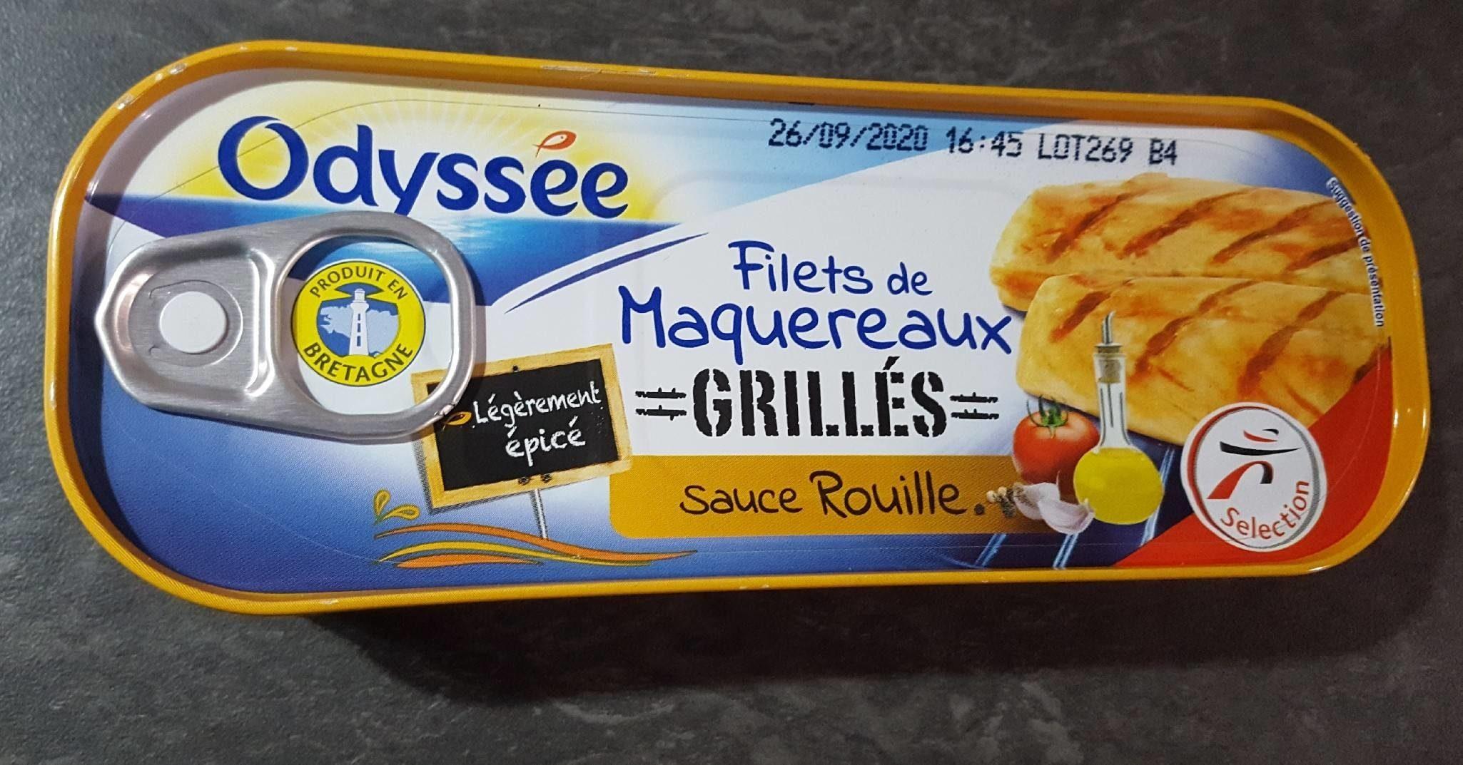 Filets de maquereaux grillés sauce rouille - Produit - fr