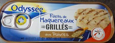 Filets de maquereaux grillés aux poivres - Product