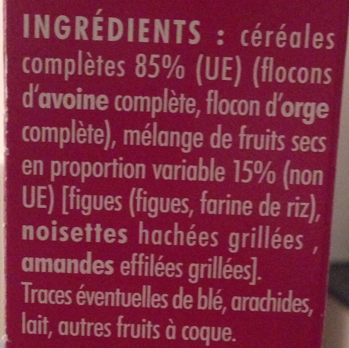 Muesli gourmand L'essentiel - Ingrédients - fr
