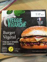 Burger vegetal - Product - fr