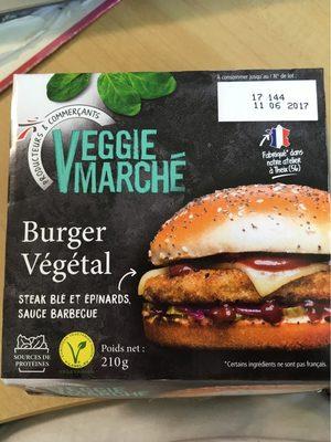 Burger vegetal - Product