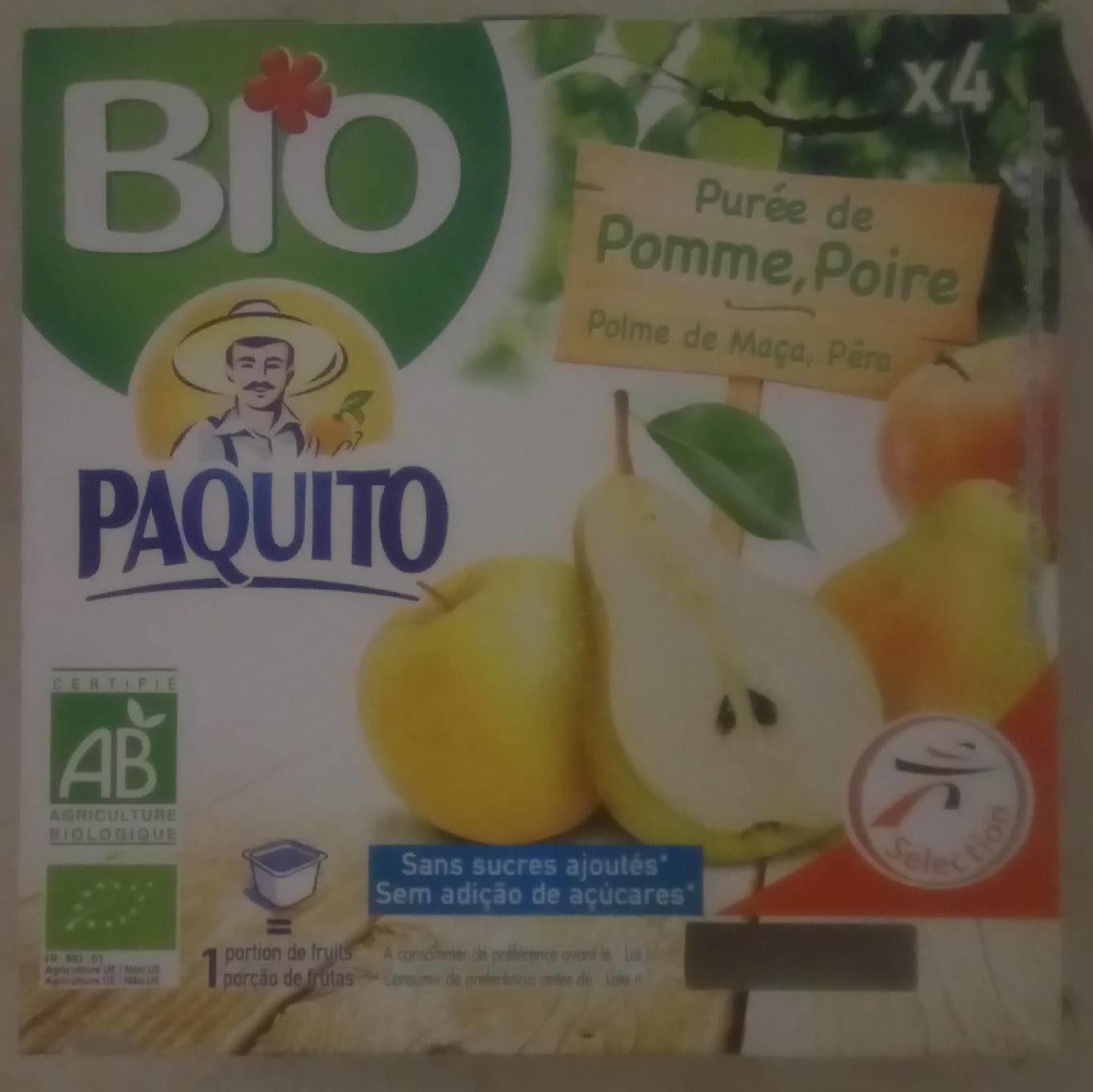Purée de pomme poire bio - Product - fr