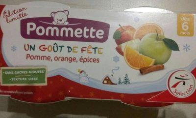 Compote pomme orange épices - Produit - fr