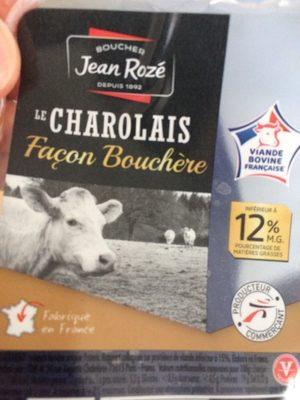 Le charolais facon bouchere - Produit