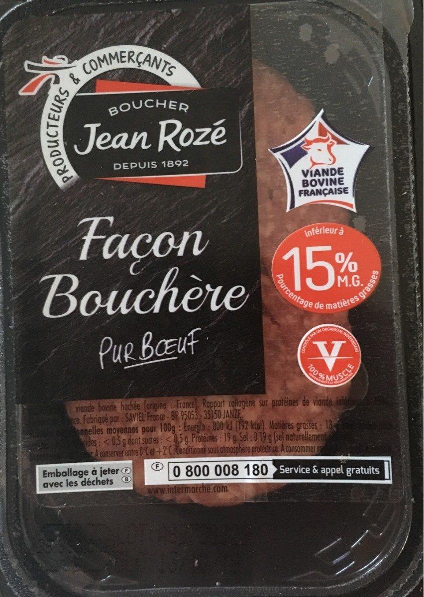steak haches - Ingrédients - fr
