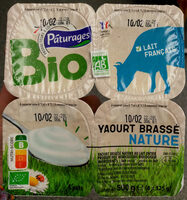 Yaourt brassé nature bio - Product - fr