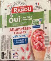 Allumettes Fumées Bleu Blanc Coeur -25% de sel - Product - fr