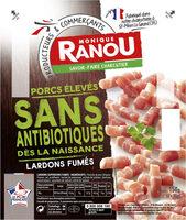 Lardons fumés sans antibiotiques - Product - fr