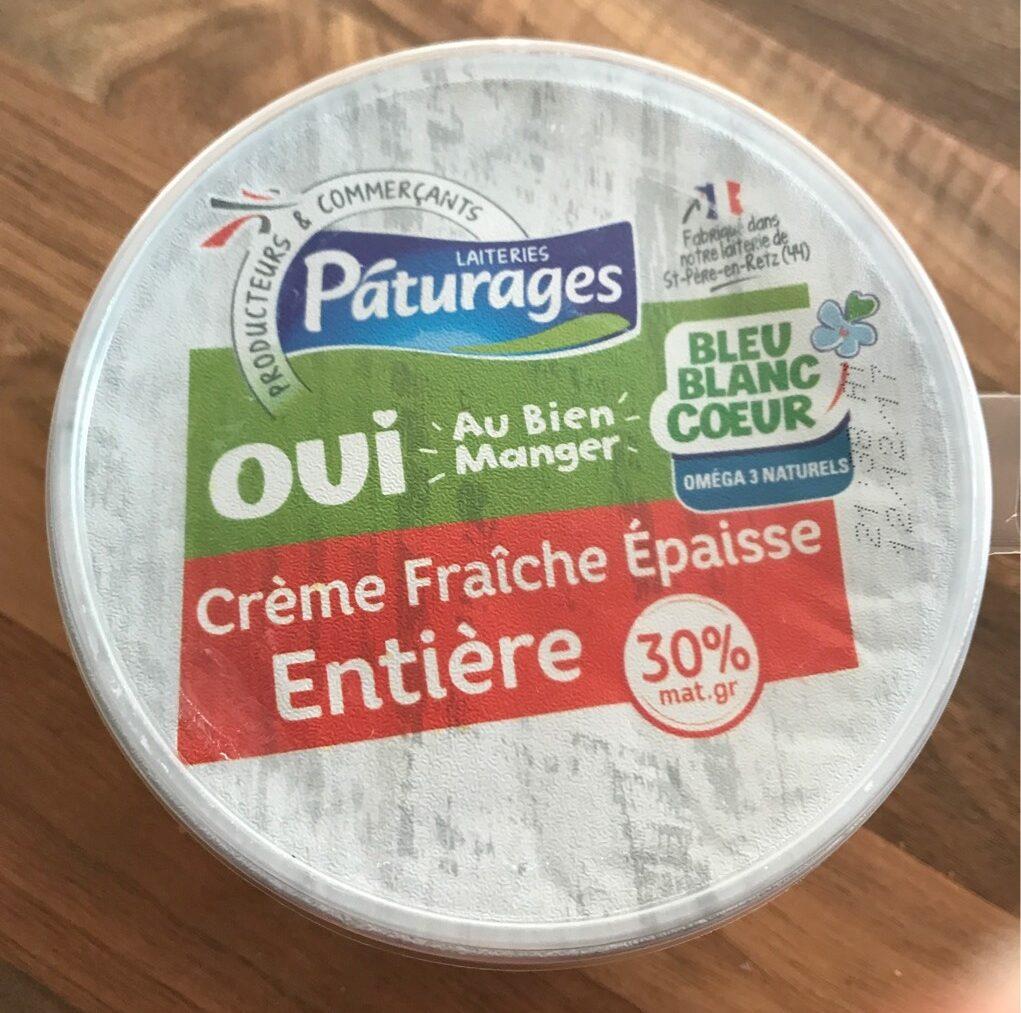 Crème Fraîche Epaisse Entière 30% - Produit - fr