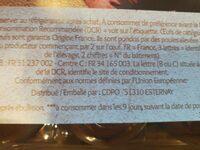 Oeuf Frais de poules Elevées AU SOL - Ingrédients - fr