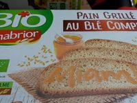 Pain grillé au blé complet - Product - fr