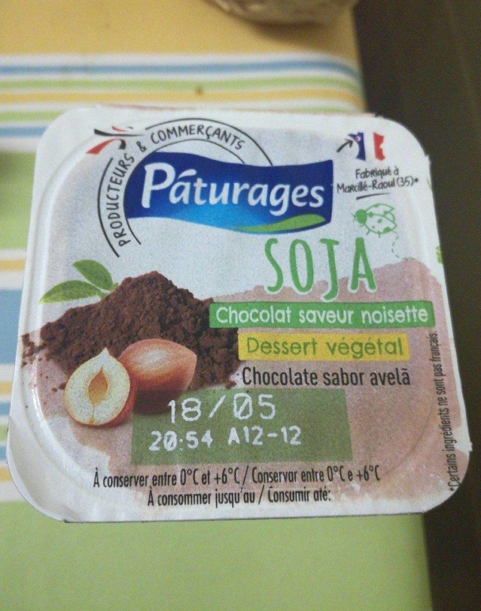 Soja Chocolat saveur noisette - Produit - fr