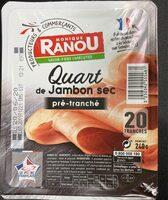 Quart de jambon sec - Produit - fr