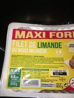 Filet de limande - Ingrédients - fr