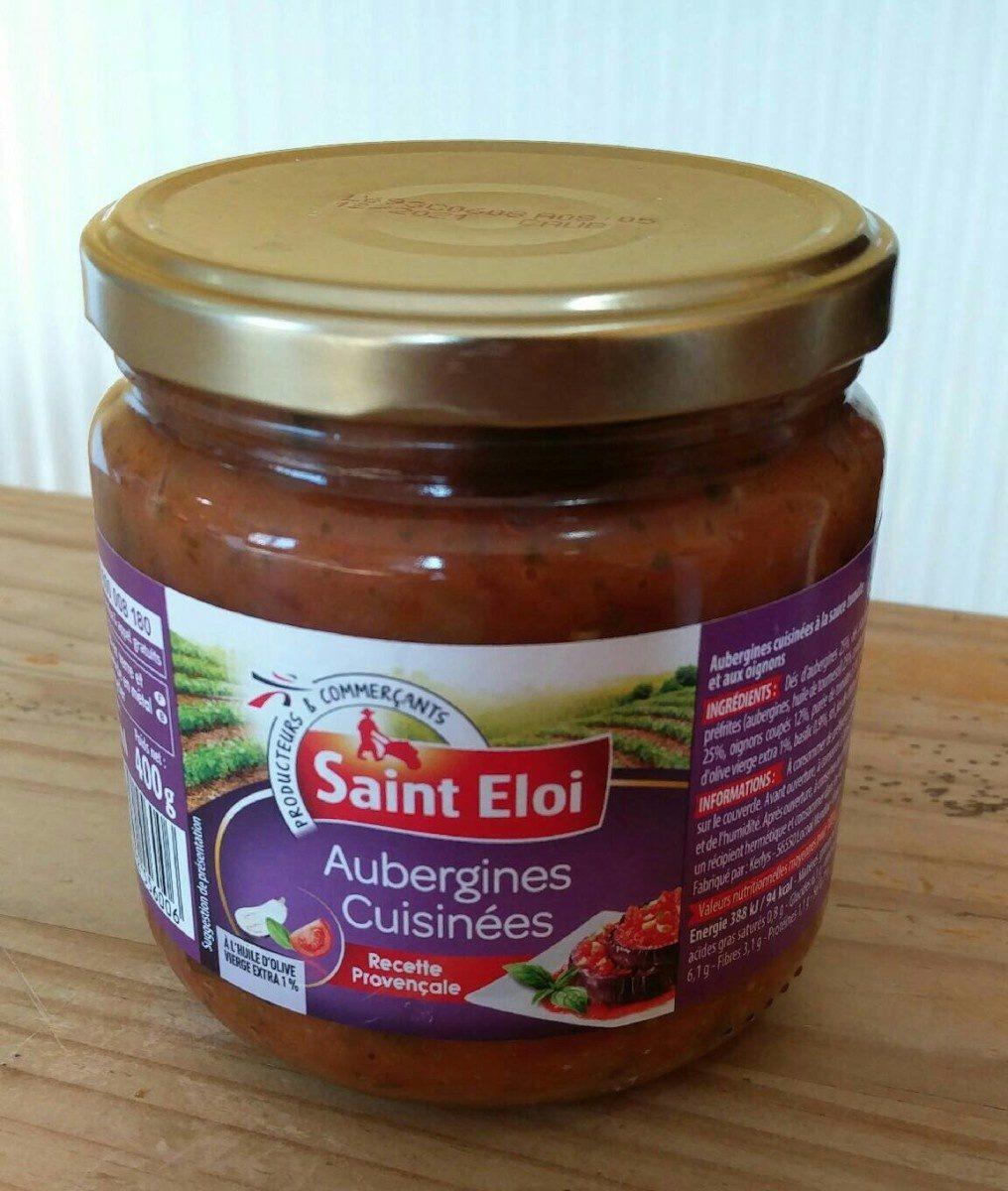 Aubergines cuisinées - Produit