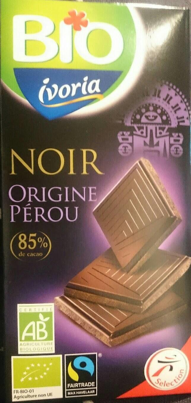 Tablette Chocolat noir 85% - Produit