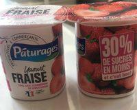 Yaourt fraise - Product - fr
