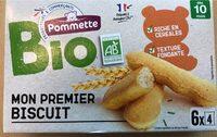 Pommette Bio Mon 1er biscuit - Product - fr