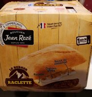 Le burger raclette - Produit - fr