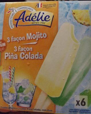 3 Façon Mojito, 3 Façon Pina Colada - Produit - fr