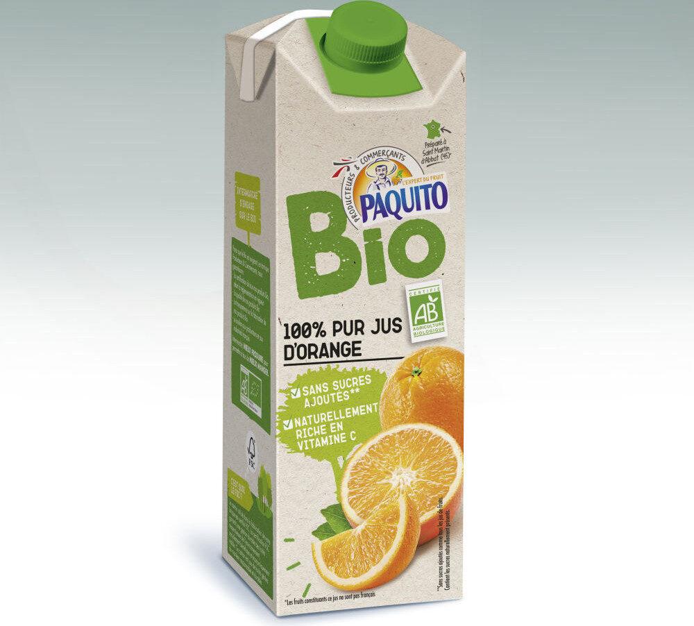 100% pur jus d'orange BIO - Prodotto - fr
