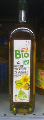 4 huiles vierges végétales - Product