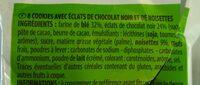 Cookies maxi pépites - Ingrediënten - fr