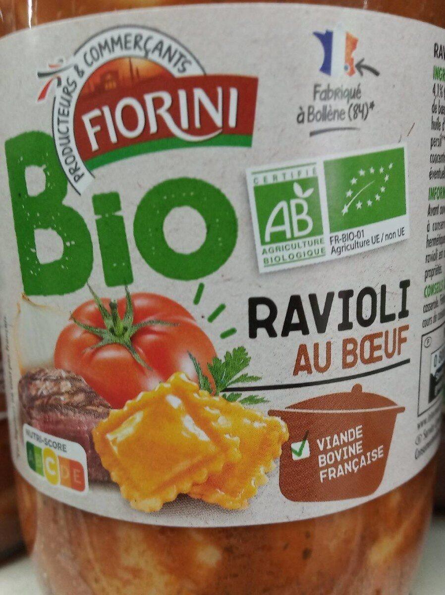 Ravioli au bœuf Bio - Product - fr
