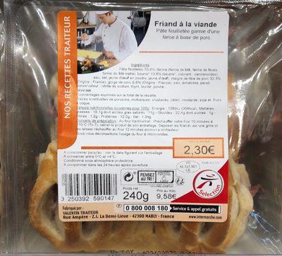 Friand à la viande - Product - fr