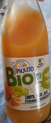 100 % pur jus d'orange mandarine - Product