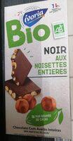 Chocolat noir aux noisettes - Product
