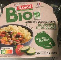 Assiette végétarienne de légumes au quinoa - Produit - fr