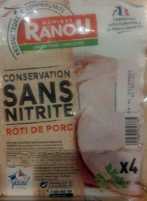 Rôti de porc - Prodotto - fr