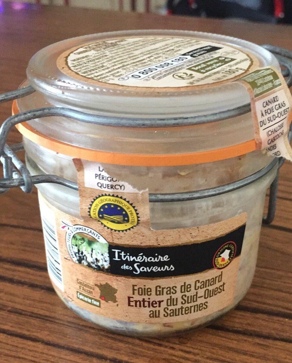 Foie gras de canard entier du sud-ouest au sauternes - Product - fr