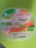 Carottes râpées assaisonnée Bio - Product - fr