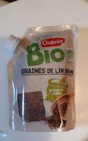 Graines de lin brun bio - Produit - fr