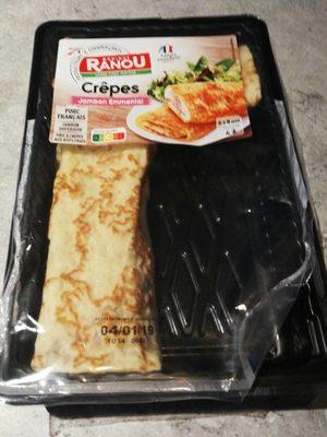 Crêpe jambon - Produit - fr