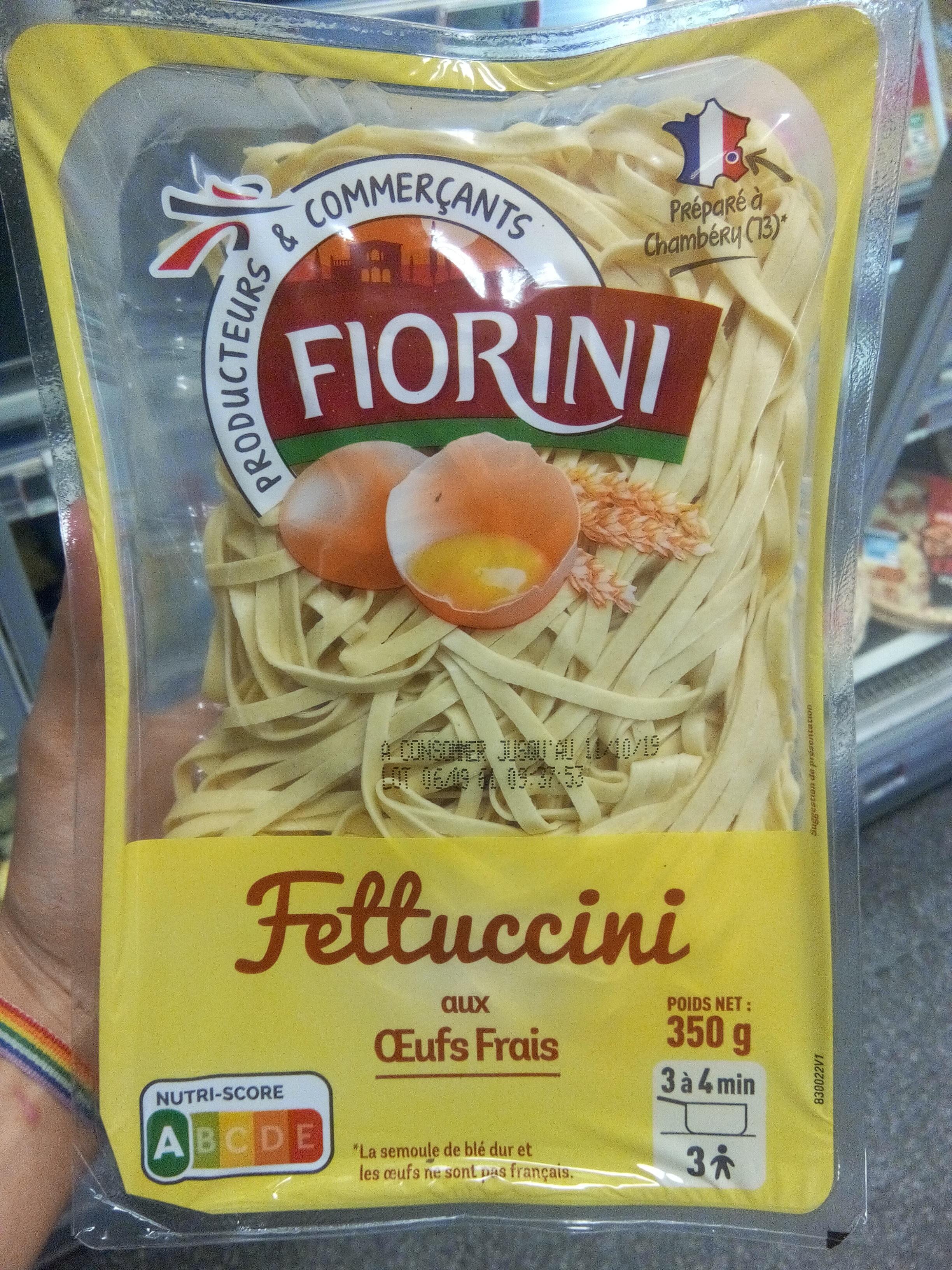 Fettuccini aux œufs frais - Product