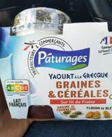 Yahourt a la grecque graines et cereales - Product