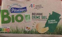 Beurre demi-sel Bio - Produit - fr