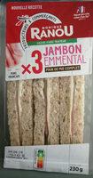 Sandwich jambon emmental - Produit