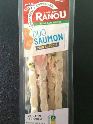 Duo Saumon pain suédois - Produit - fr