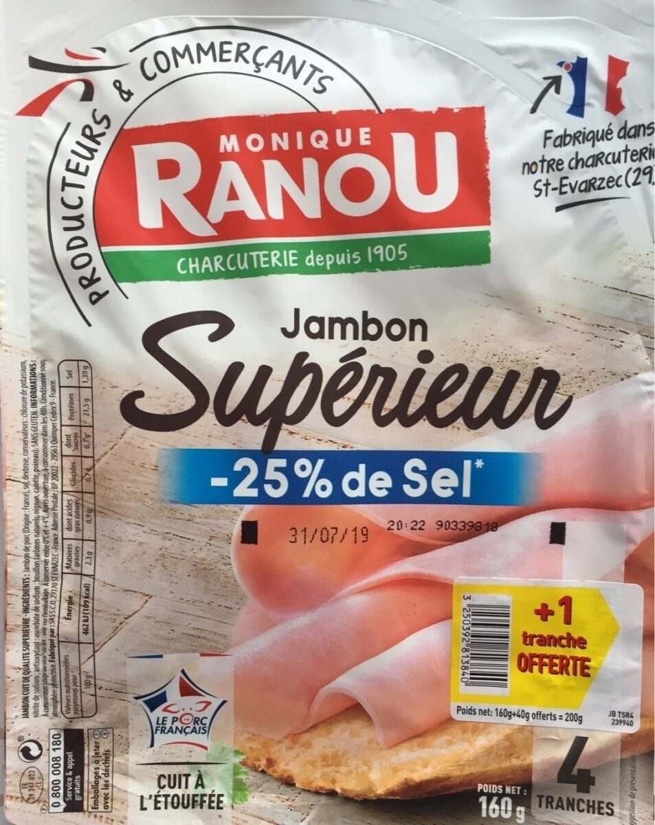 Jambon - Prodotto - fr