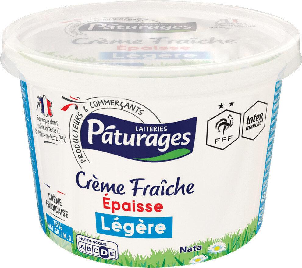 Crème fraîche épaisse légère - Produit - fr