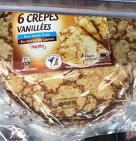 Crêpes vanillées - Produit - fr