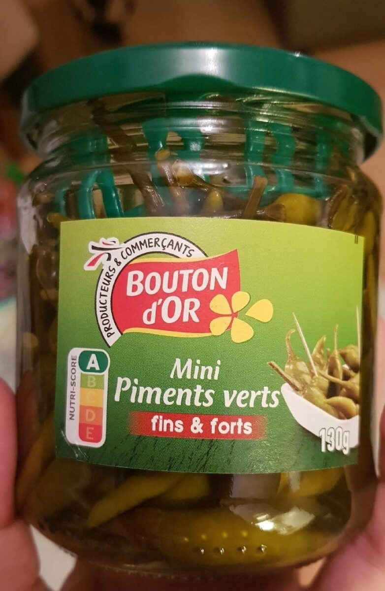 Mini piments verts - Product - fr