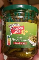 Mini piments verts - Produit - fr